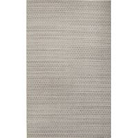 Flat-weave Moroccan style gray/taupe wool blend rug, 'Garber' - Flat-Weave Gray/Taupe Wool Blend Area Rug
