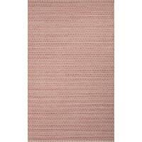 Flat-weave Moroccan red/taupe wool blend area rug, 'Camellia' - Flat-Weave Moroccan Red/Taupe Wool Blend Area Rug