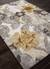 Modern floral ivory/yellow wool blend area rug, 'Garden in Neutral' - Modern Floral Ivory/Yellow Wool Blend Area Rug (image 2c) thumbail