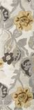 Modern floral ivory/yellow wool blend area rug, 'Garden in Neutral' - Modern Floral Ivory/Yellow Wool Blend Area Rug (image 2f) thumbail