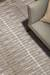 Modern geometric gray/ivory wool blend area rug, 'Fieldmont' - Modern Geometric Gray/Ivory Wool Blend Area Rug (image 2d) thumbail