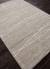 Modern abstract gray/ivory wool blend area rug, 'Entwine' - Modern Abstract Gray/Ivory Wool Blend Area Rug (image 2c) thumbail
