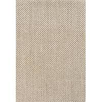 Solid taupe/ivory sisal area rug, 'Nelly' - Natural Tone Solid Taupe/Ivory Sisal Area Rug