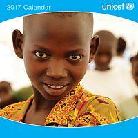 Photo Wall Calendar - Photographs of Happy Children Brighten Each Month