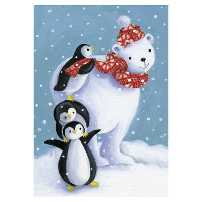 Christmas Animals Christmas Cards - Unicef Christmas Charity Cards