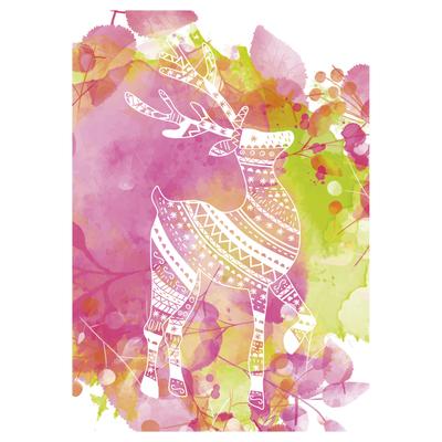 Seasonal watercolours Christmas Cards - Unicef Charity Christmas Cards