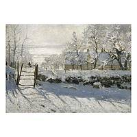 Magpie in the Snow Christmas Cards - Unicef Charity Christmas Cards