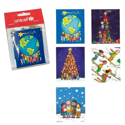 Christmas Gift Tags - Unicef Charity Gift Tags