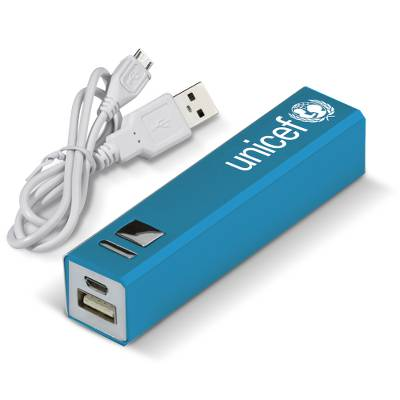 Power Bank Stick - Blue - Keep Your Smart Devices Charged