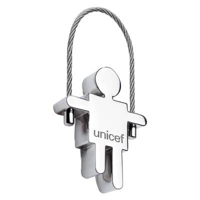 Unicef Keyring - Boy - Show Your Support for the World's Children