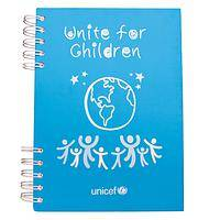 Deluxe notebook - Helps to Spread Unicef's Unite for Children Message