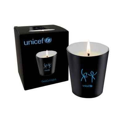 Deluxe Candle - Elegant Unscented Candle Lends a Note of Warmth to Any Room