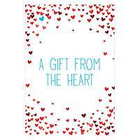 Inspired Gifts Wedding Favours Clean water tablets - Heart wedding favours