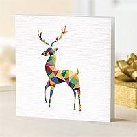 Prismatic Christmas Cards - Unicef Charity Christmas Cards