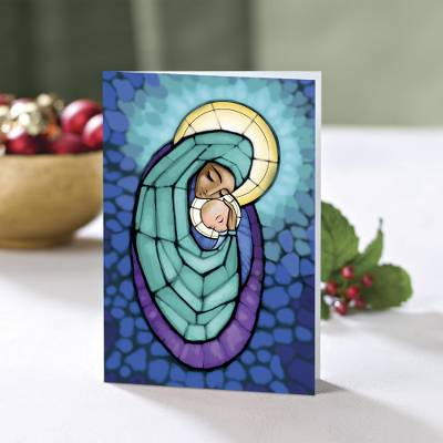 A Mother's Arms Christmas Cards - Unicef Charity Christmas Cards