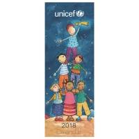 UNICEF Slim Engagement Calendar (2018) - Unicef Charity 2018 Calendar