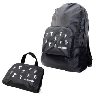 Unicef Folding Backpack - All-Season Carrying Comfort