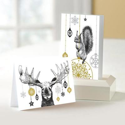 Festive Animals Christmas Cards - Unicef Charity Christmas Cards