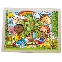 Unicef Wooden Puzzle - Unicef Charity Children's Game