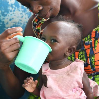 Life saving milk for 3 children  - Life saving therapeutic milk for 3 children