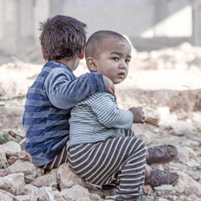 Emergency gift for Syrian children - Gift of emergency supplies to help Syrian children