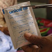 Life-saving salts for 15 children