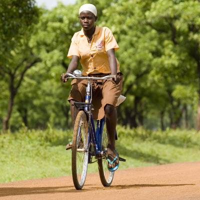 Bicycle  - Bicycle for a schoolchild or health worker