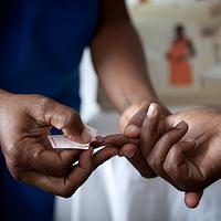 HIV test kit for 50 mums
