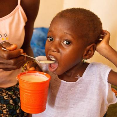 Emergency food pack  - Emergency food supply for malnourished children