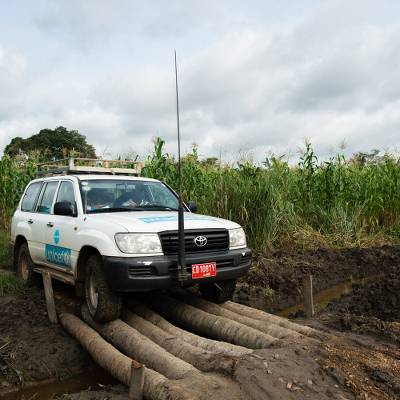 UNICEF all-terrain vehicle - Get aid to where it's needed