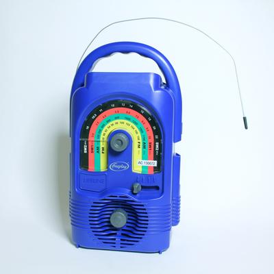 Solar Powered Wind-Up Radio - Solar Powered Wind-Up Radio