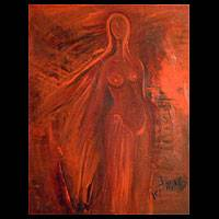 Symphony in Red (2004) - Surrealist Painting (2004)