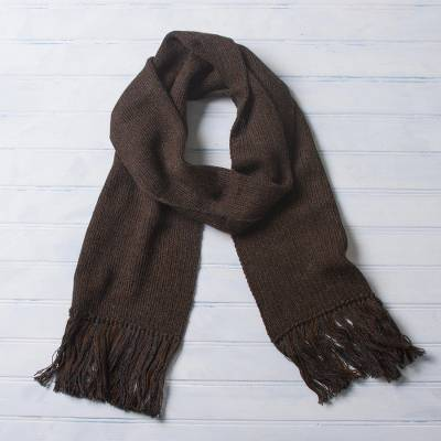 100% alpaca scarf, Nightland