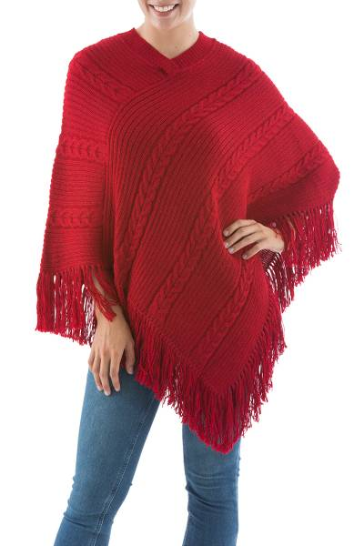 Hand Crafted Peruvian Alpaca Wool Women