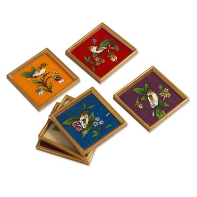 Glass coasters (Set of 6)