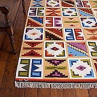 Wool rug,