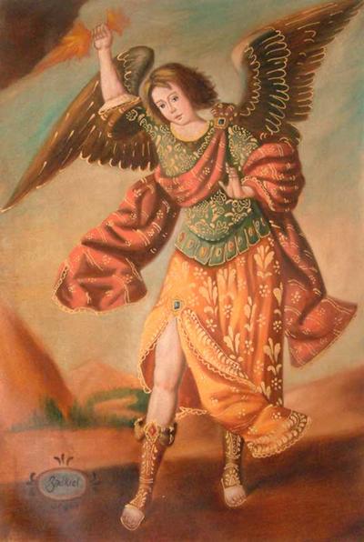 Archangel Zadkiel Novica
