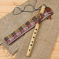 Featured review for Bamboo quena flute, Night Owl