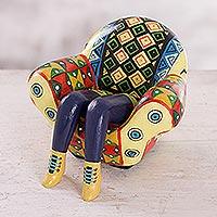 Ceramic statuette Paracas Legged Sofa Peru