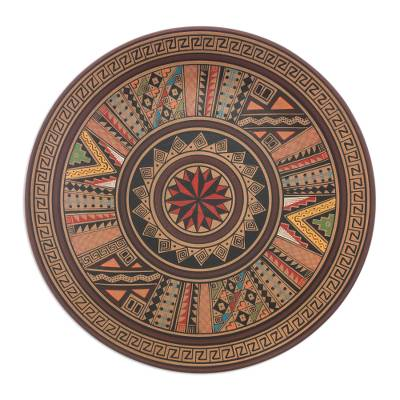 Cuzco Ceramic Decorative Plate