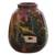 Ceramic vase, 'The Cottage' - Hand Painted Cuzco Ceramic Vase thumbail