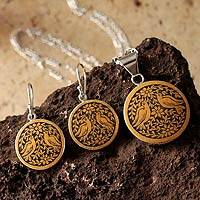 Mate gourd jewelry set,