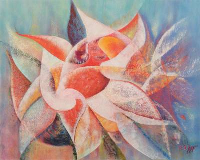 Floral Abstract Oil Painting (2007)