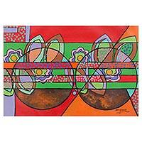 'Abstract II' (2007) - Abstract Pop Art Painting (2007)