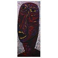 'Wrath' (2007) - Peru Fine Art Original Expressionist Painting (2007)