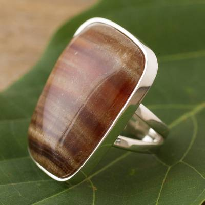 Onyx cocktail ring