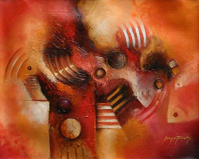 Abstract Original Oil Painting