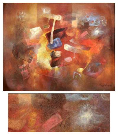 'Ancestral Presence' (2008) - Abstract Painting (2008)