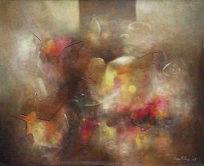 'Silent Dream' (2008) - Abstract Original Oil Painting (2008)