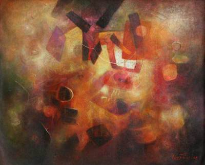 Abstract Original Painting (2008)